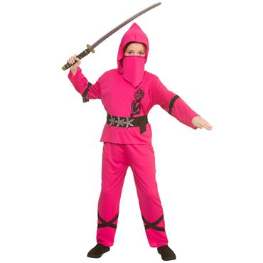 Power Ninja Costume - Pink