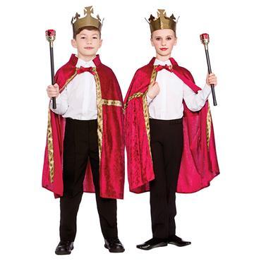 Deluxe King/Queen Robe & Crown Burgundy