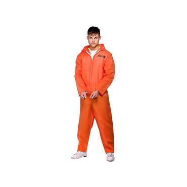 Orange Convict Suit Costume
