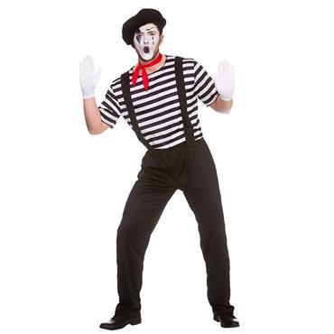 Mime Artist Costume