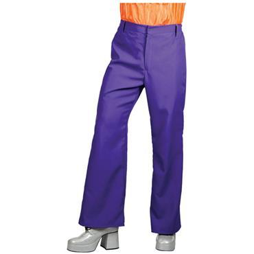 70's Disco Flares - Purple