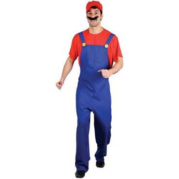 Funny Plumber (Mario) Costume