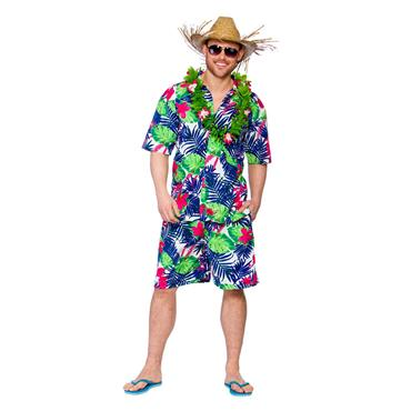 Hawaiian Party Guy - Funky Leaf