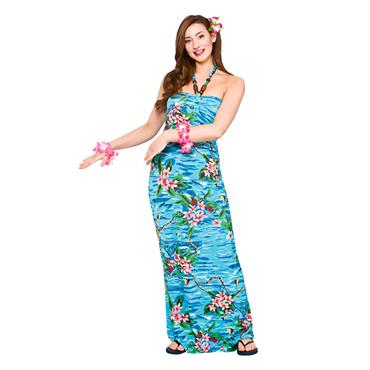 Hawaii Maxi Dress Orchid