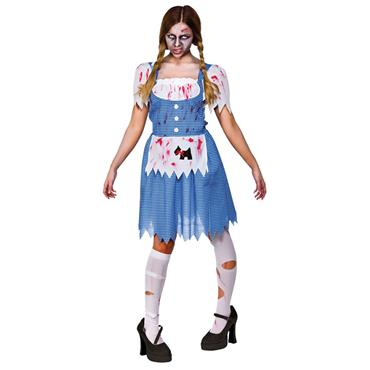 Zombie Country Girl (Dorothy) Costume