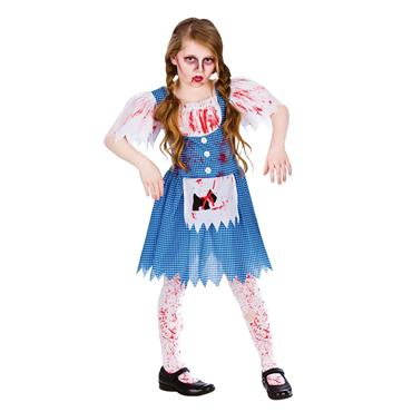 Zombie Country Girl Costume (Dorothy)