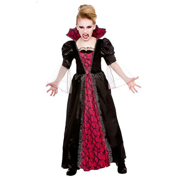 Deluxe Victorian Lady Vampiress Adult Women Costume