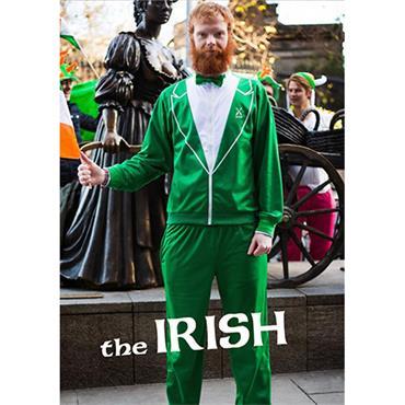 The Irish Green Traxedo