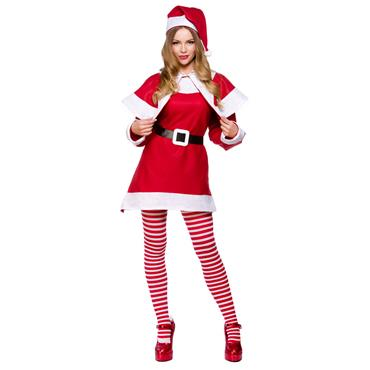 Budget Mrs Santa Costume