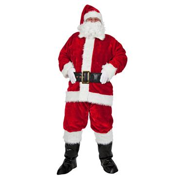 Luxury Plush Santa Costume