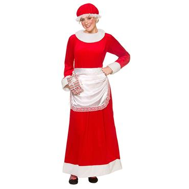 Deluxe Mrs Santa Claus Costume