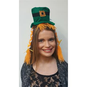 Irish Headband Hat with Plaits