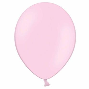 """Pink Pastel Latex Balloons 12"""" (100pk)"""