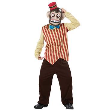Toy Monkey Googly Eye Child Costume