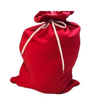 Plain Red Santa Sack