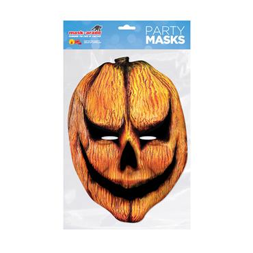 Pumpkin Horror Face Mask