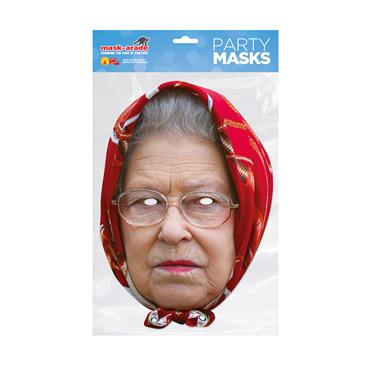 Queen Headscarf Face Mask