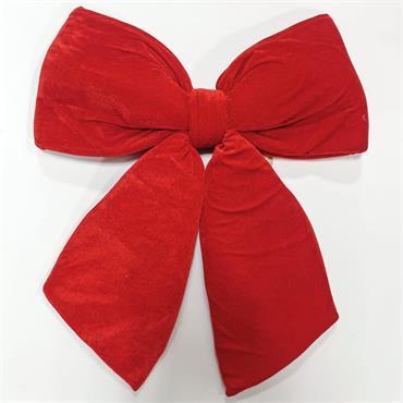 Deluxe Red Velvet Bow - 2ft x 2ft