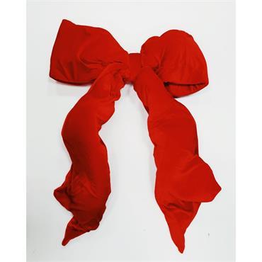 Deluxe Large Red Velvet Bow - 3ft x 4ft