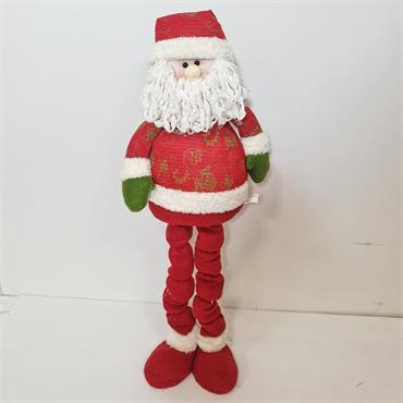 Christmas Santa Retractable Long Legs Gnome