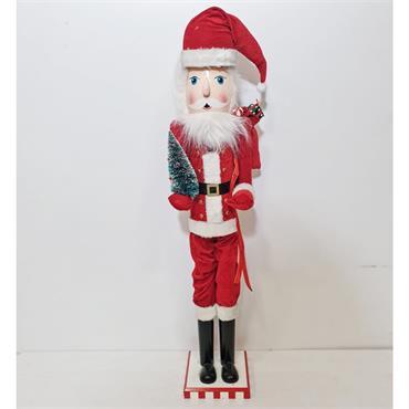 3ft Wooden Santa Christmas Nutcracker