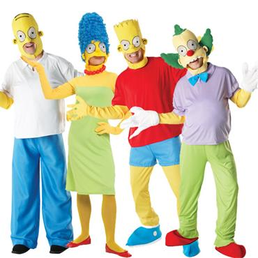 The Simpsons Group Costumes