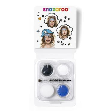 Snazaroo Mini Face Paints - Blue Pirate