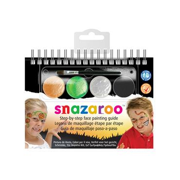 Snazaroo 2 Step Booklet - Halloween