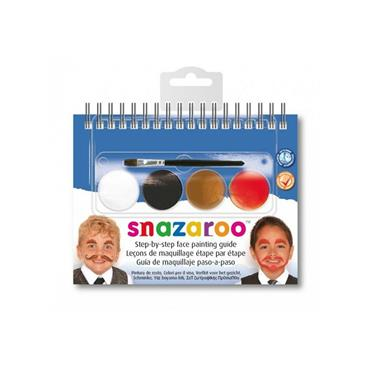 Snazaroo 2 Step Booklet - Moustaches