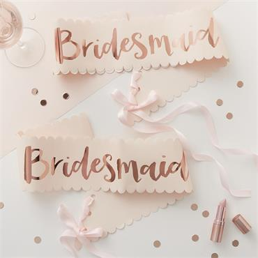 Team Bride - Sash Bridesmaid