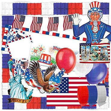 USA 4th July Value Pack