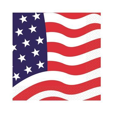American Flag Napkins