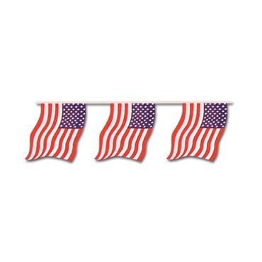 USA Large Bunting 7m (25 flags)