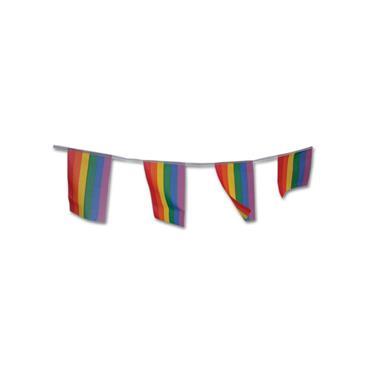 Pride 6m Rainbow Fabric Bunting