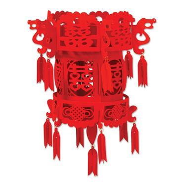 Felt Chinese Palace Lantern 46cm