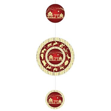 Chinese Zodiac Mobile Decoration 75cm x 28cm