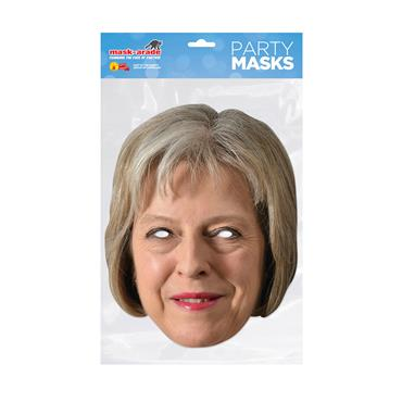 Theresa May Face Mask