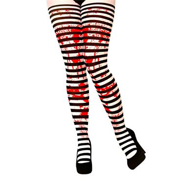Candystripe with Blood Tights