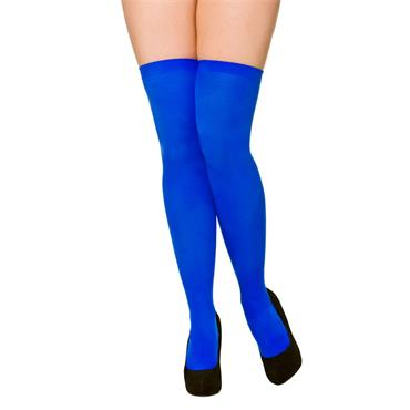 Blue Thigh Highs