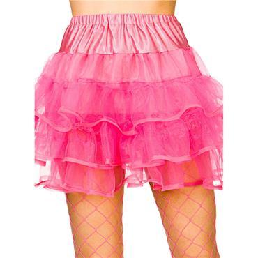 80's Ruffle Tutu - Neon Pink