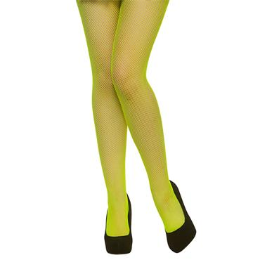 Fishnet Tights - Neon Green