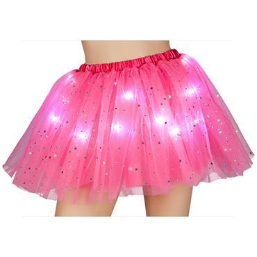 Light Up Sparkle Tutu - Pink
