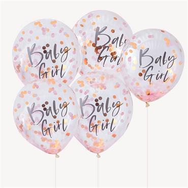 Rose Gold & Pink Baby Girl