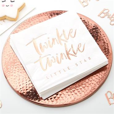 Rose Gold Twinkle Twinkle Pape