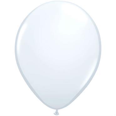 "White Latex Balloons 12"""