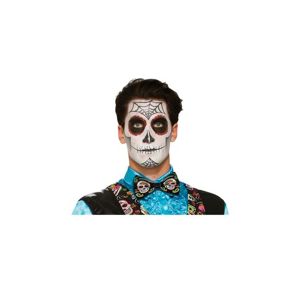 Fancy Dress Party Costume Accessory Day of the Dead Bowtie