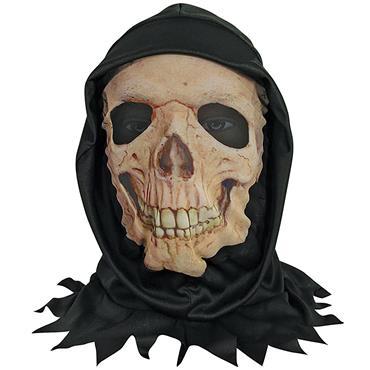 Skull Skin Mask with Hood