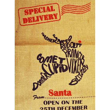 Christmas Santa's Toy Sack