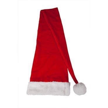 Deluxe long santa hat