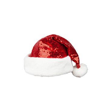 Deluxe Sequined Santa Hat